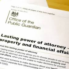 Property & Financial Lasting Power of Attorney